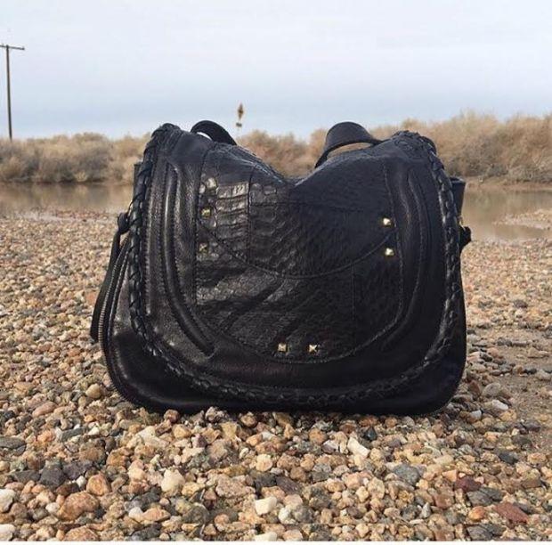 gitane, rhapsody, bohemian, french, leather, bag